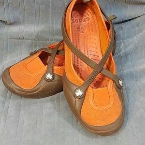 Crocs canvas flat